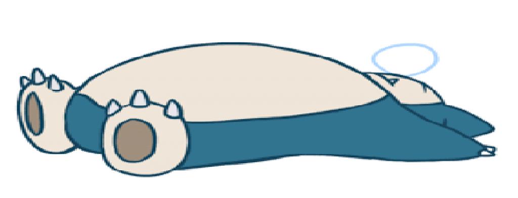 Sleeping Snorlax